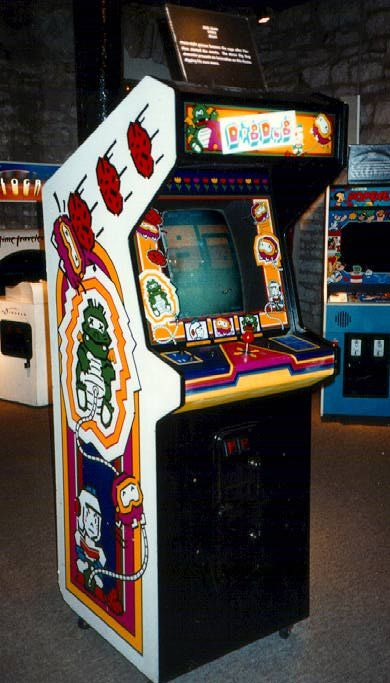 Dig Dug arcade cabinet   ...Please save this pin.  Because for vintage collectibles - Click on the following link!.. http://www.ebay.com/usr/prestige_online
