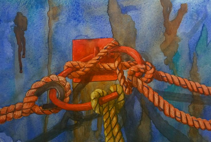 Watercolor by Henk Siepel