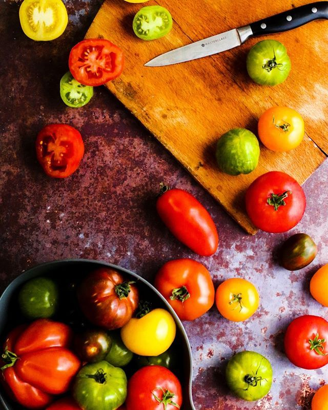 you say tomato and i say tomato its british tomato fortnight and we love tomatoes in the studio especially these heritage tomatoe tv food food good food pinterest