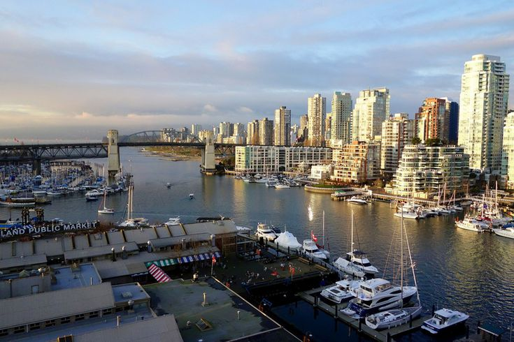 There seems to be a wait and see attitude of both sellers and buyers to the changing market conditions. Prices haven't dropped as much as the number of sales has tapered off.   Photo: Vancouver by Imogene Huxham