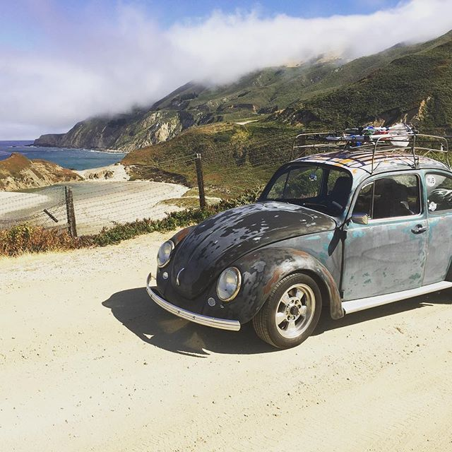 Big sur this morning #vwbug #vwbeetle #volkswagen #bigsur #california #beach #calocals - posted by Jamie H https://www.instagram.com/cheeezehound - See more of Big Sur, CA at http://bigsurlocals.com