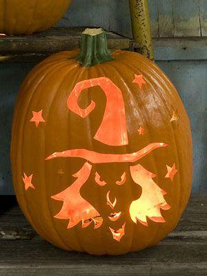 Printable Pumpkin Stencils - Free Pumpkin Carving Patterns - Woman's Day