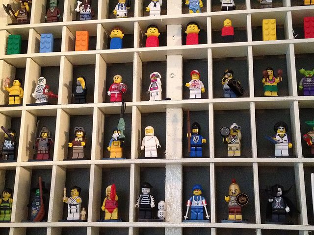 Display Case for Lego Figures