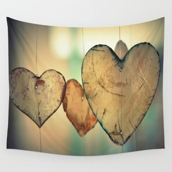 Vintage Bokeh Translucent Windchime Hearts Pattern Wall Tapestry Portable Photography Backdrop. Hearts mobile. Hearts windchimes. Love. Heart. Pretty. Transparent. Image courtesy of Pixabay.  Heart themed home decor, heart home decor, trending home decor, trending home decor 2016, home interior design trends, trending wall decor, trending home decor for sale, home decor ideas, modern home decor, home decor website, home decor accessories, home decor online shopping, home decor website