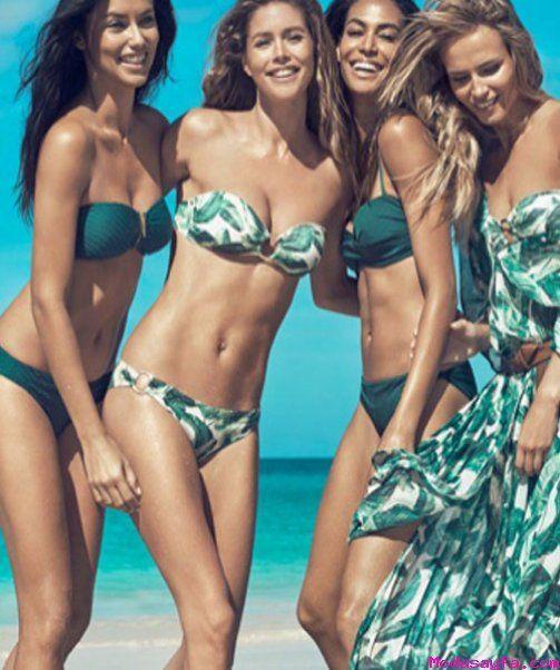 Victoria`s Secret melekleri H&M reklam kampanyasında - http://modasayfa.com/victorias-secret-melekleri-hm-reklam-kampanyasinda/
