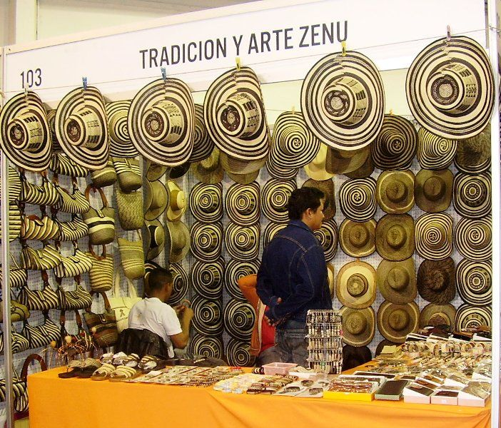 Traditional Colombian hats