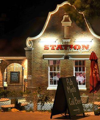 Franschoek Station Pub & Grill #CraftBeer #Pub # Franschoek
