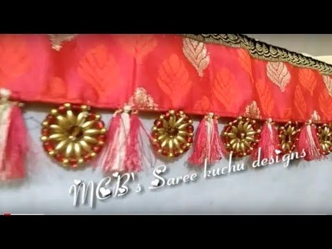 Designer Crochet Tassels Using Tear Drop Base | Saree Kuchu Tutorial | www.knottythreadz.com - YouTube
