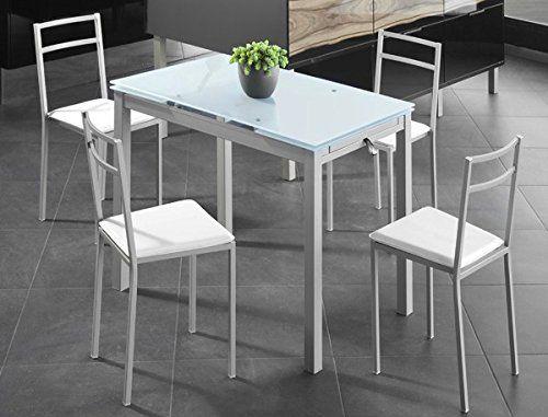 17 mejores ideas sobre mesas de comedor de color gris en for Mesas de cocina pequenas extensibles