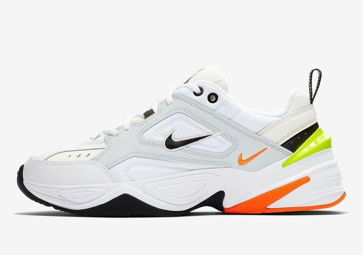 Nike M2K Tekno Pure Platinum Volt Orange AV4789-004 - SepRun ...