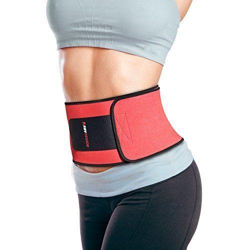 Waist-Trimmer-Ab-Trainer-Support-Belt-Weight-Loss-Body-Shaper-Fat-Burner-Fitness