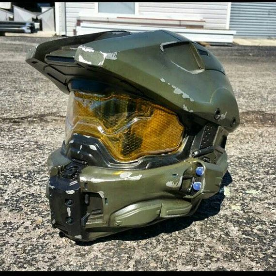 Ultimate Halo 4 Master Chief Helmet Replica - Padded and Wearable ...