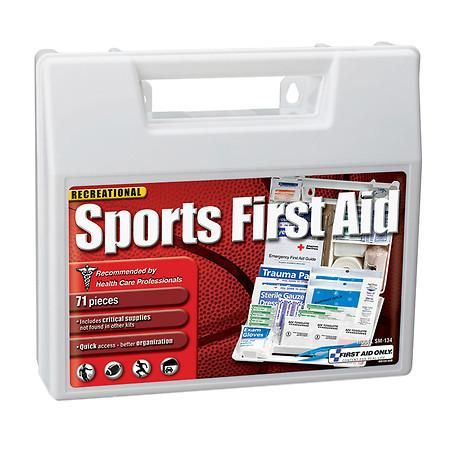First Aid Only Sports First Aid Kit 71 pieces - 1 ea