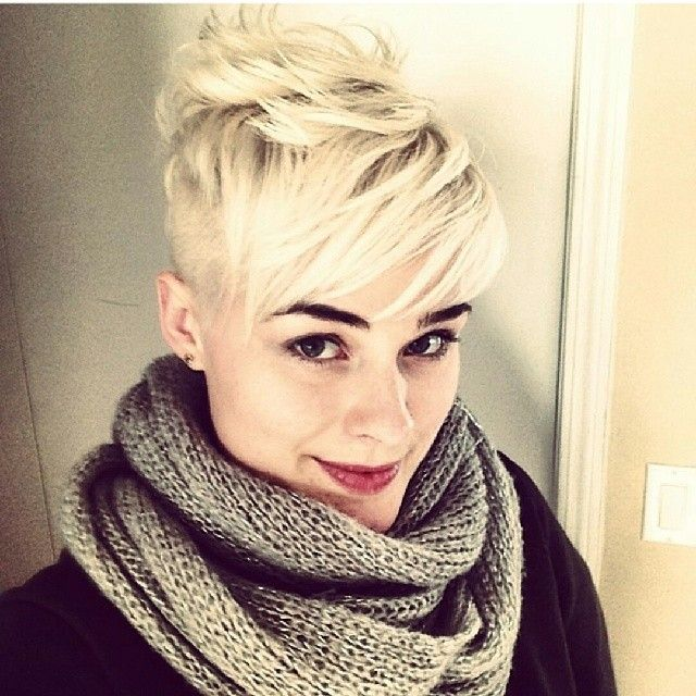 Get an undercut, then grow out top so you can style like this. Buns and pig tail buns