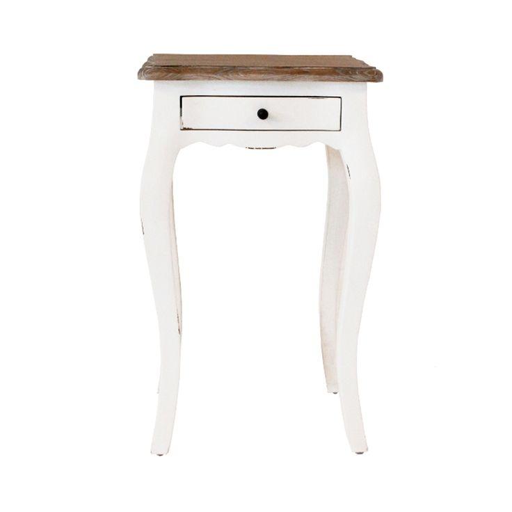 #comodino #legno #bianco