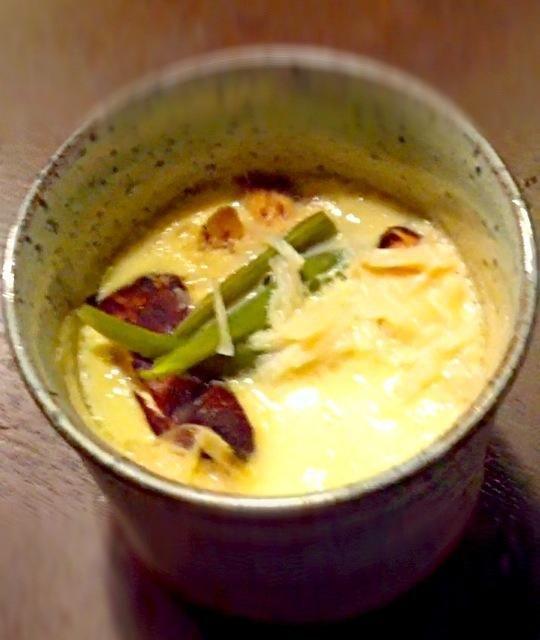 茶碗蒸しを初めて作りました。意外と簡単♪ - 12件のもぐもぐ - 松茸の茶碗蒸し by MOONLIGNT