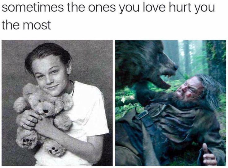Leonardo DiCaprio - The Revenant bear haha