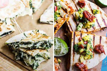 15 Ridiculously Tasty Quesadillas That'll Make Your Life Complete