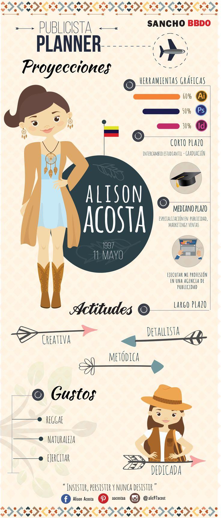 Autobiografía - Infografía -  Adobe Illustrator.