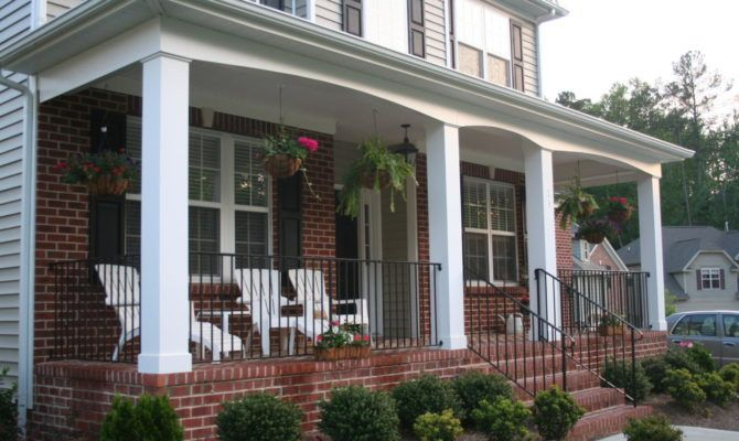 Small House Front Porch Beautiful Desi Home Building Plans