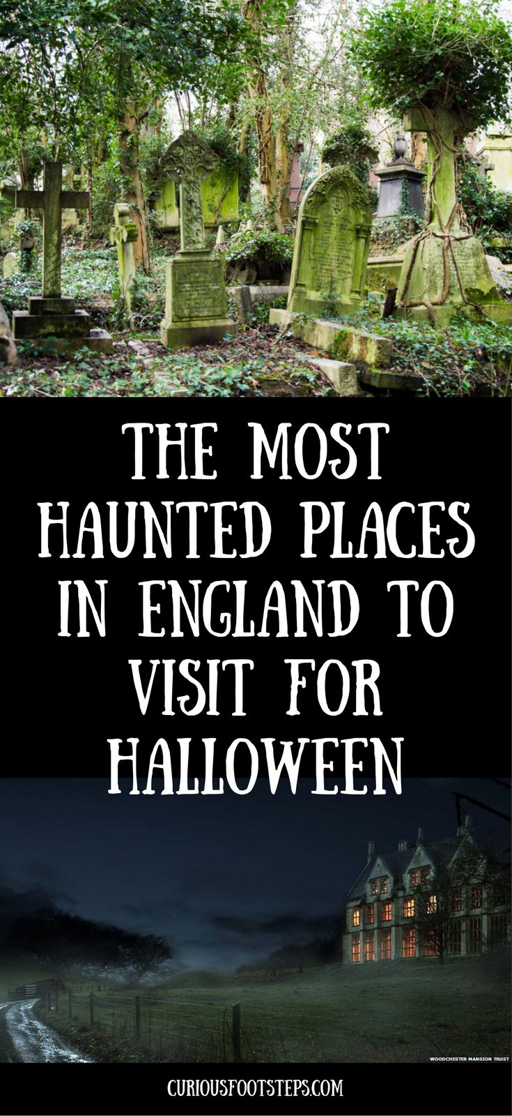 The most haunted places in england to visit for halloween.....from a floating head in the bathroom of an unfinished mansion to the sound of phantom horses hooves on the cobbles at an old smugglers haunt, there are plenty of ghostly tales and mysterious sights throughout the country!