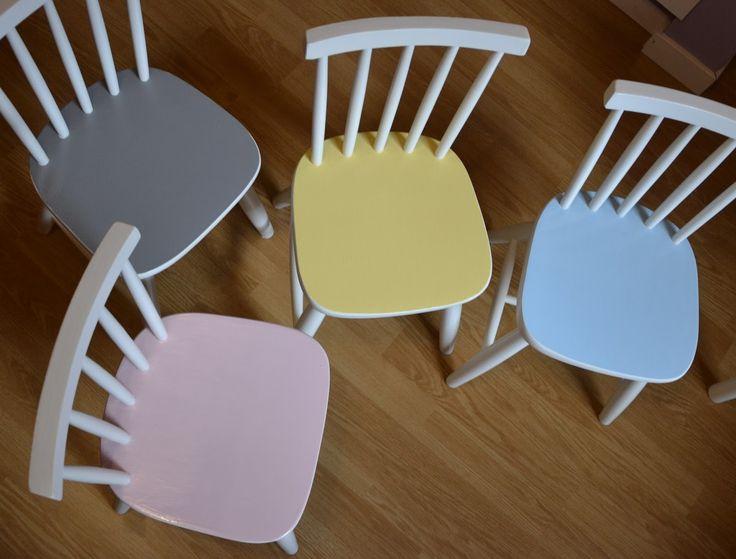 Runge form: Måla om stolar
