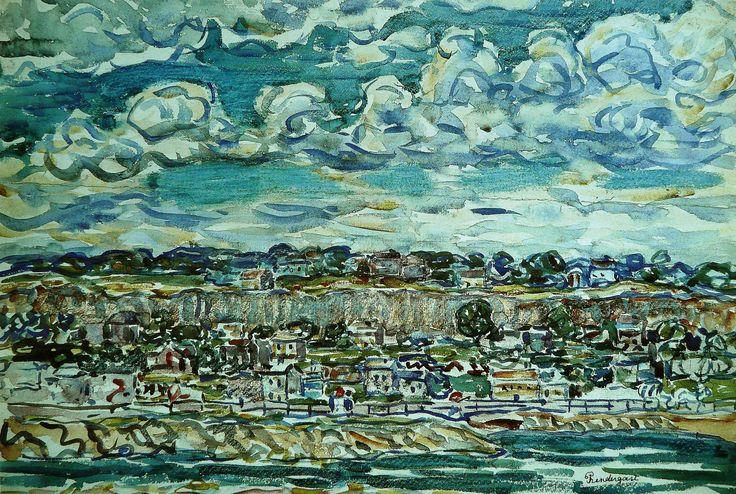 Maurice Prendergast  Saint Malo