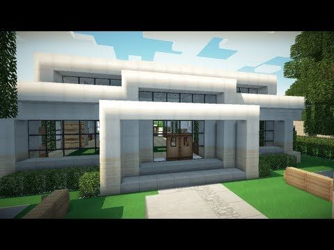 minecraft small modern house youtube - Simple Modern House Minecraft