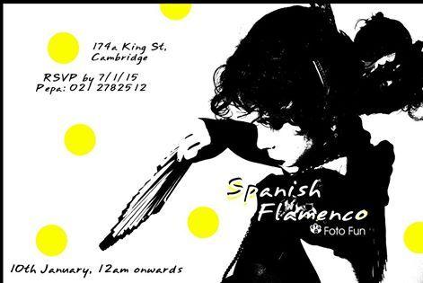 Manuela flamenca poster 1