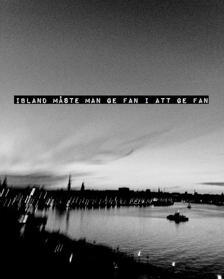 """Ge fan"" Foto: Per Englund, text: Villfarelser #englundvillfarelser #perenglund #villfarelser #foto #konst"