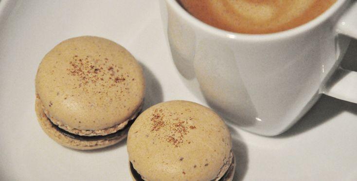 Makroner med kaffe - fra 1001makroner