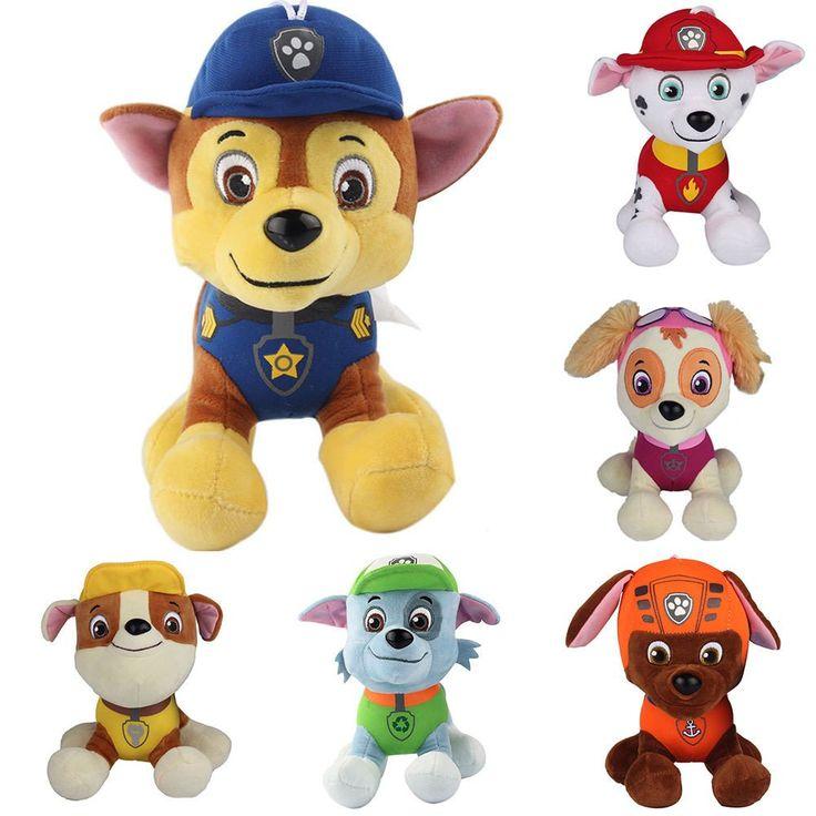 PAW Patrol Cartoon 6pcs Plush Pups