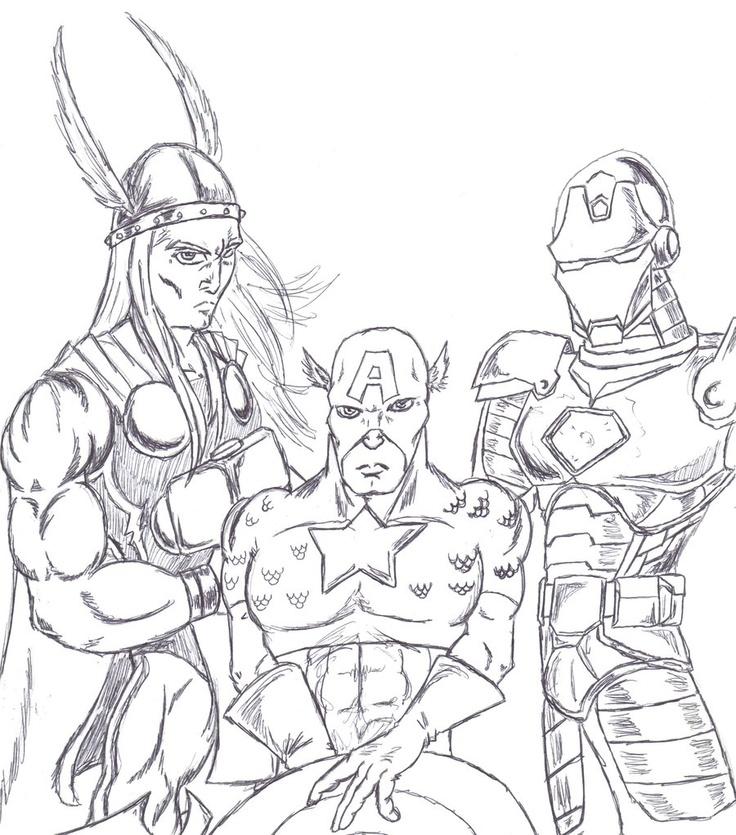 Guarda Tutti I Disegni Da Colorare Degli Avengers Wwwbambinievacanzecom Avengers