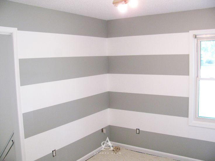 DIY: So streichen Sie perfekte Wandstreifen