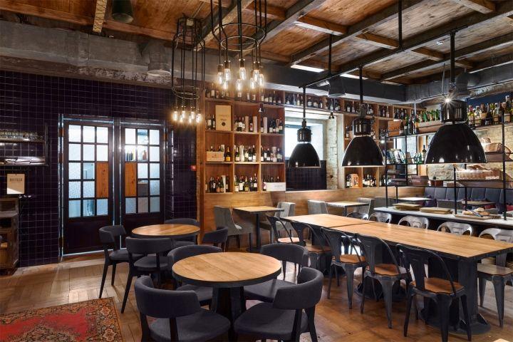 Bottega Wine & Tapas Restaurant by Kley Design, Kiev – Ukraine » Retail Design Blog