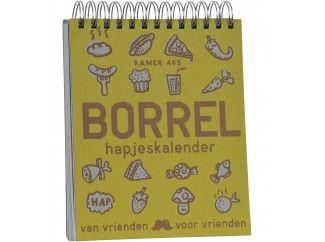 borrelhapjeskalender - 365 + 1 recepten voor borrelhappen