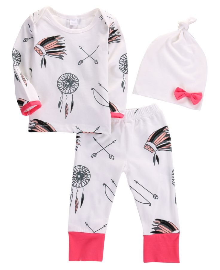 >> Click to Buy << 3Pcs Newborn Toddler Infant Baby Girl Boy Long Sleeve Top Long Pants Leggings Hat Outfit Set Casual Cute Clothes #Affiliate