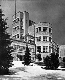 Pałac prezydencki w Wiśle