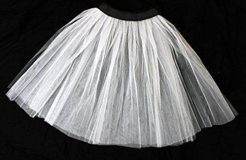 LADIES LONG NET PETTICOAT SKIRT FANCY DRESS ACCESSORY 26 INCH LENGTH UNDERSKIRT 50'S ROCK AND ROLL MESH UNDER SKIRT PETICOAT (WHITE) ILOVEFANCYDRESS http://www.amazon.co.uk/dp/B00N7I8OD2/ref=cm_sw_r_pi_dp_qNAKub12YS9K4