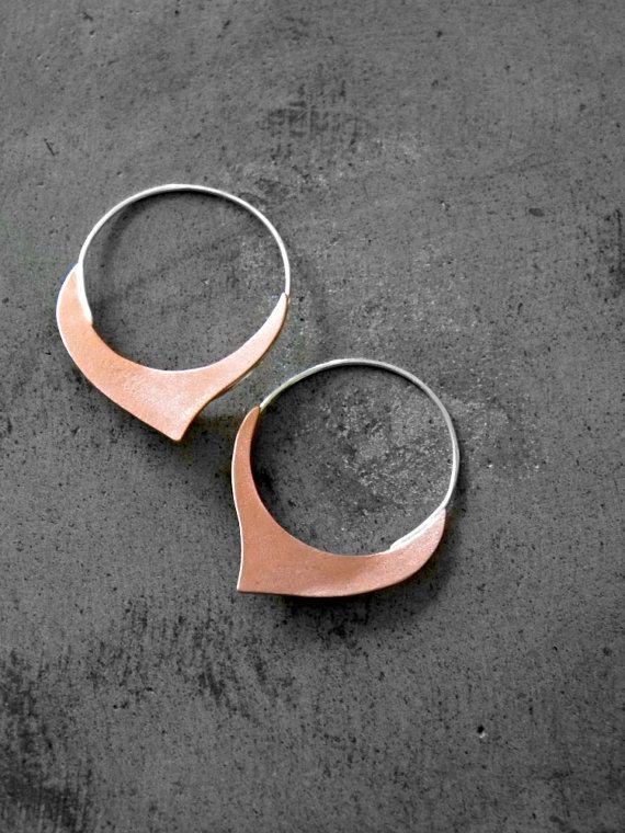Hoi! Ik heb een geweldige listing gevonden op Etsy https://www.etsy.com/nl/listing/179682114/damasque-copper-hoop-earrings-copper