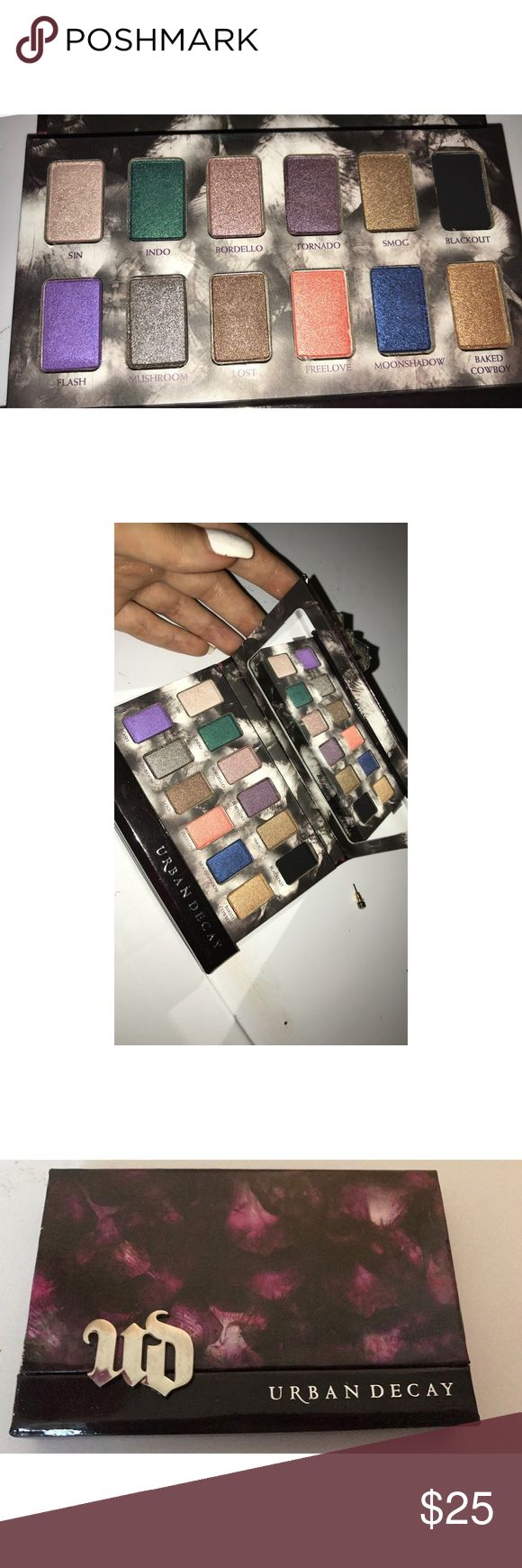 Urban Decay shadow box palette. I revived this is a gift and threw away the box but it has never been used! In perfect condition, just doing some cleaning and realized I never used it so it could use a new home! :) Urban Decay Makeup Eyeshadow