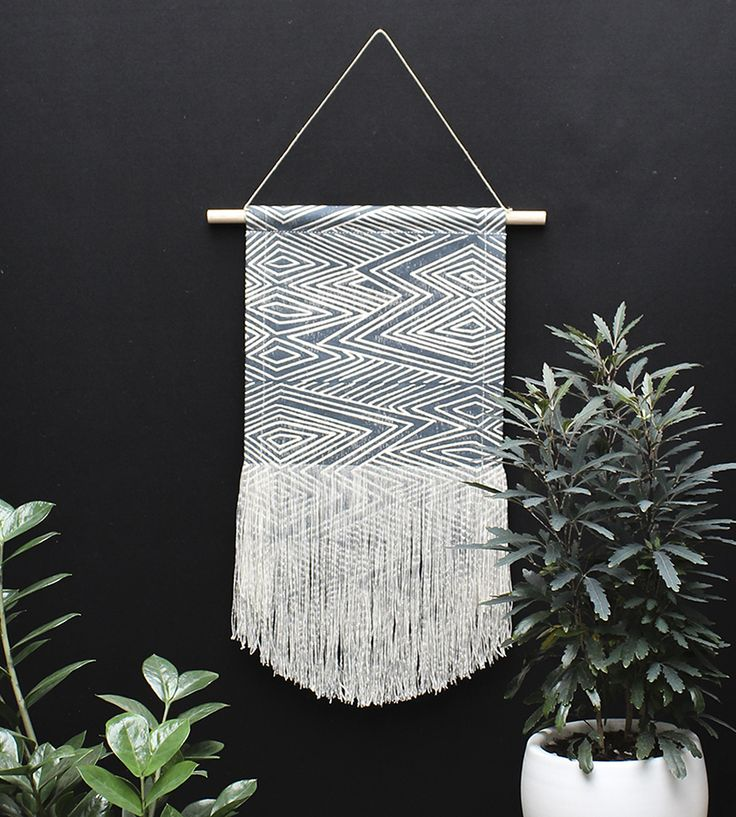Flame Fringe Wall Hanging by Julia Canright on Scoutmob