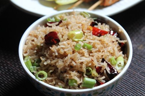 This has become my latest favourite fried rice, it is packed with a wonderful aroma of garlic and chillies and it taste just fantastic. You will get the aroma and bite of garlic in each mouthful. Similar Recipes, Veg Fried Rice Chicken Fried Rice Prawn Fried Rice Mushroom Fried Rice Schezwan Fried Rice Singapore Fried...Read More