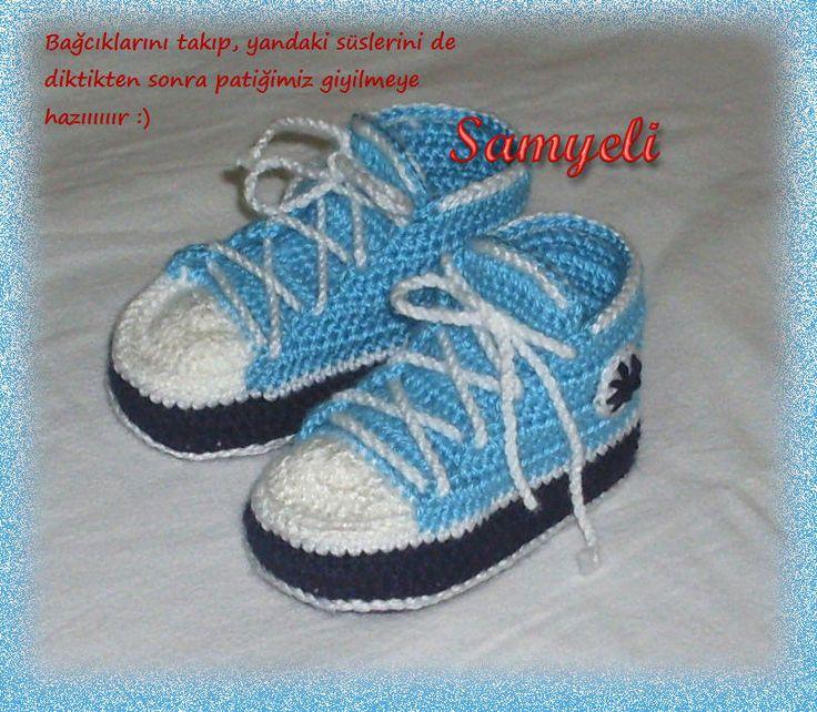 Converse Bebek Patiği Yapılışı 30