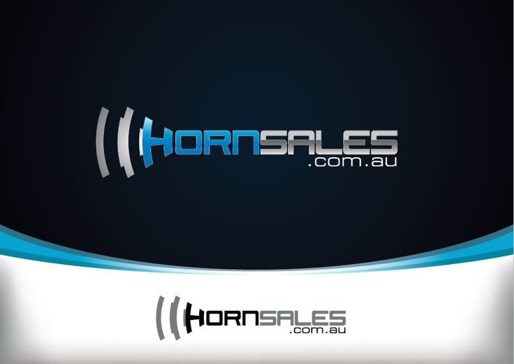 Logo for New Auto Website Business selling car horns by just©