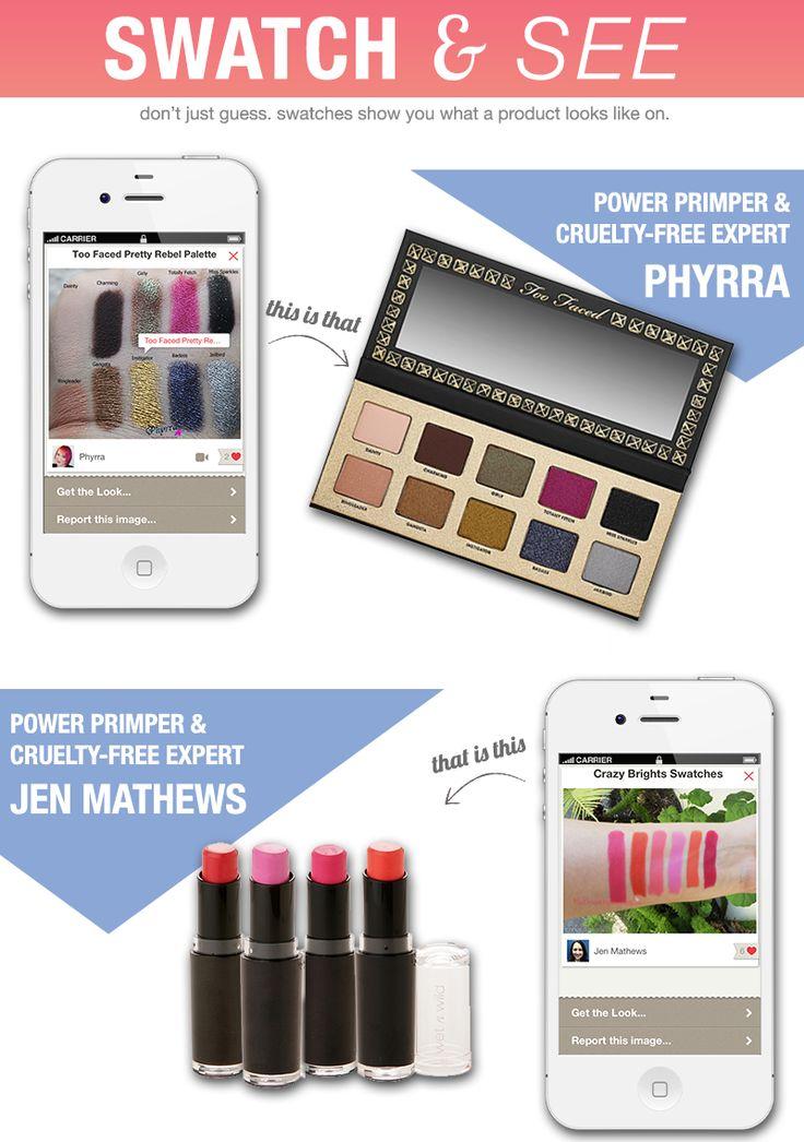 Cruelty Free Makeup Looks via @Pretty in my Pocket - From @Phyrra and @MyBeautyBunny Jen