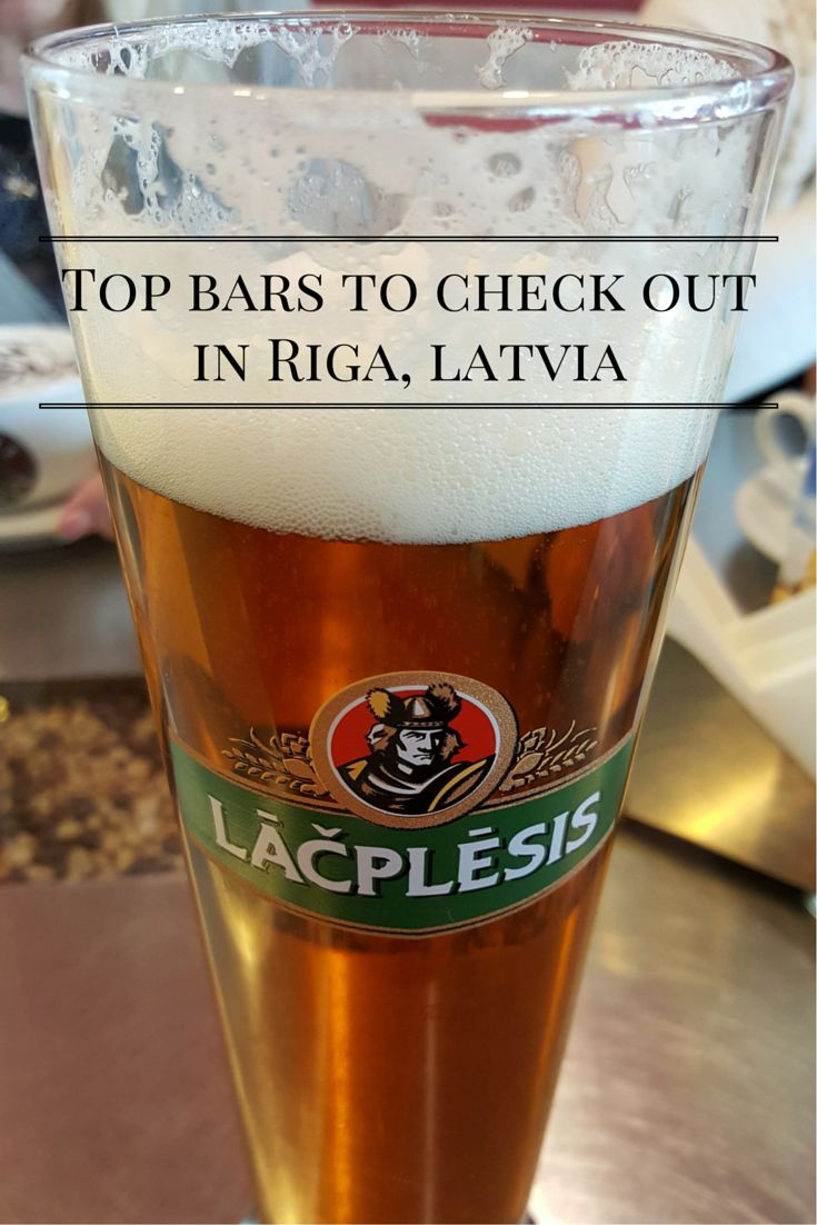 Top bars to check out in Riga, Latvia