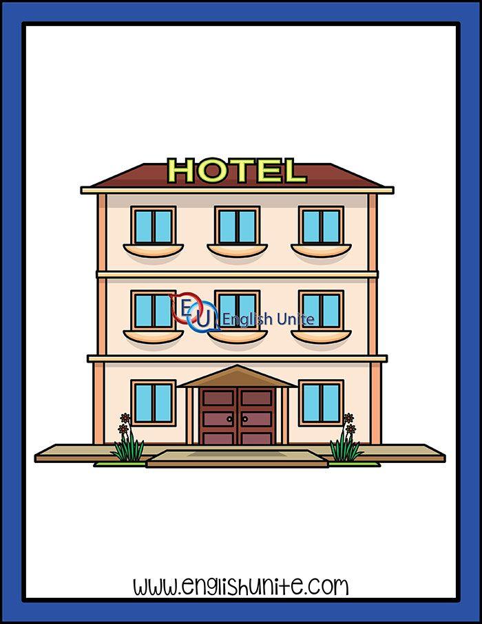 Building Hotel English Unite Material Educativo Ciudades Lugares Importantes