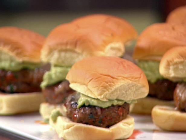 Get Chorizo Sliders Recipe from Food Network