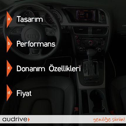Herkese iyi haftalar! Otomobil satın alırken en çok hangi kriterlere dikkat edersiniz?